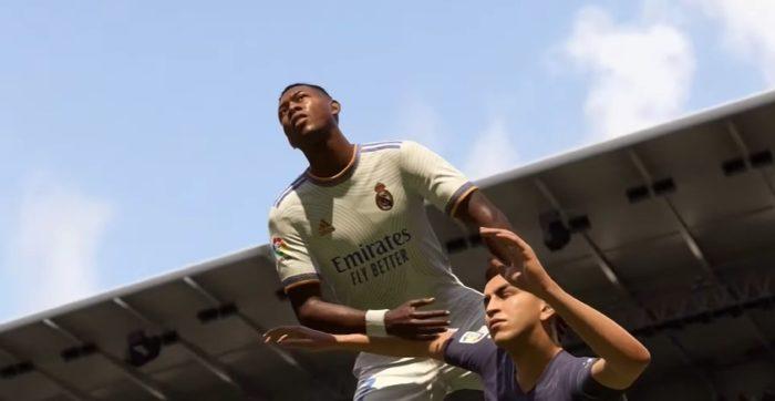 Cenas de disputa de bola serão mais realistas (Imagem: Divulgação / EA Sports)