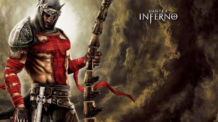 Dante's Inferno é um jogo baseado em livro