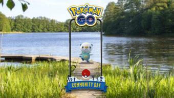 Dia Comunitário de setembro tem Oshawott em Pokémon GO