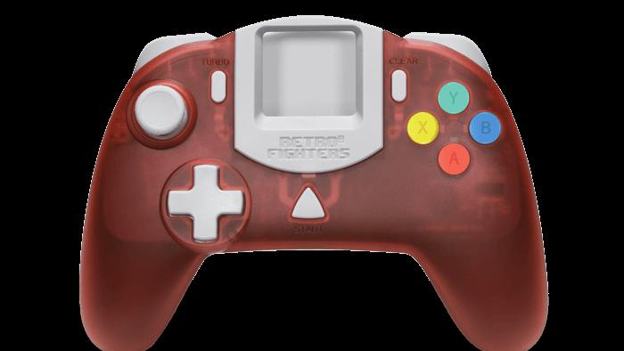 Controle para console de videogame antigo da Retro Fighters