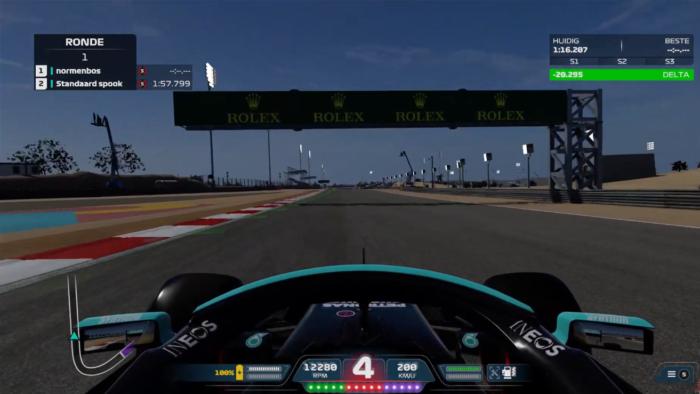 Time trail em F1 2021
