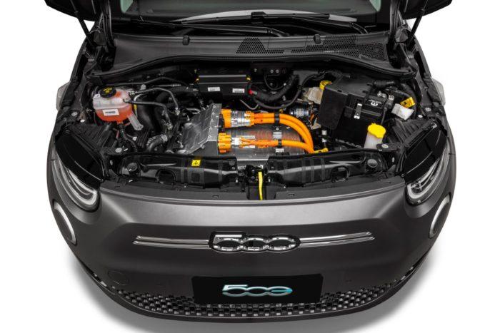 Motor elétrico do novo Fiat 500e (Imagem: Reprodução/Stellantis)
