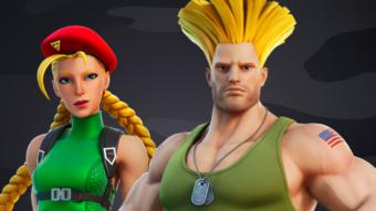 Cammy e Guile de Street Fighter 2 chegam a Fortnite