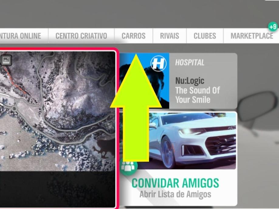 Vender carros em Forza Horizon 4