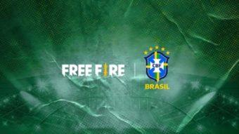 Free Fire se torna patrocinador da Seleção Brasileira de Futebol