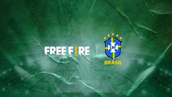 Free Fire fecha parceria com a CBF para patrocinar a Seleção Brasileira de Futebol (Imagem: Divulgação/Garena)