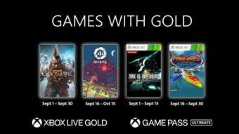 Xbox Live Gold de setembro tem Kojima, Chaosbane e mais jogos grátis