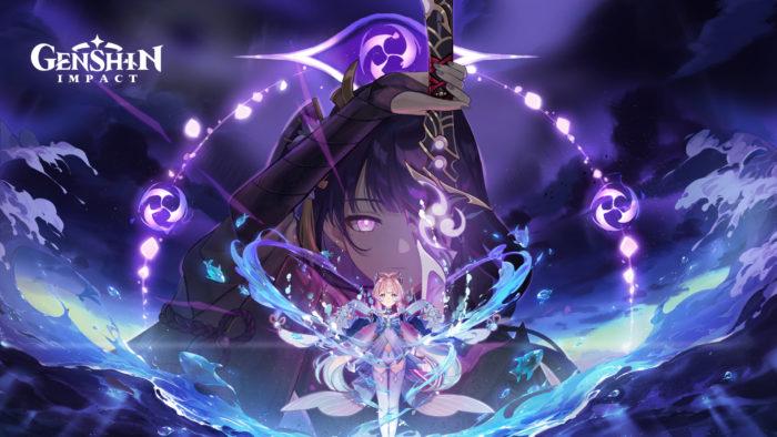 Banner promocional do patch 2.1 de Genshin Impact (Imagem: Divulgação)