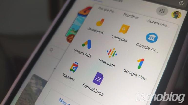 Google Forms App (Imagem: Gabrielle Lancellotti/Tecnoblog)