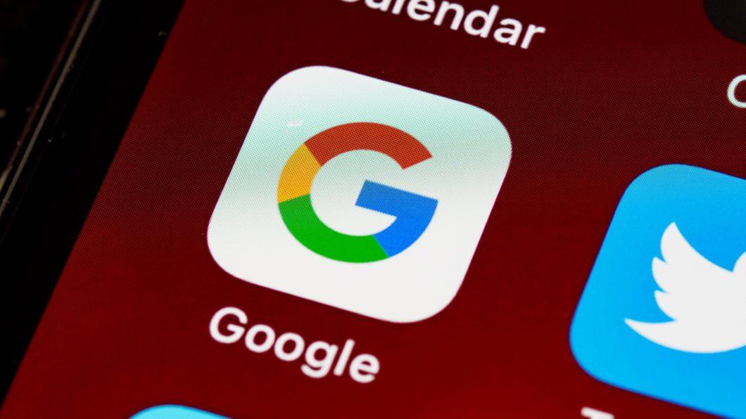 Ícone do Google em um iPhone
