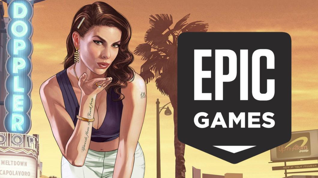 GTA 5 atraiu 7 milhões de pessoas para a loja da Epic (Imagem: Reprodução)