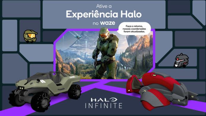 Halo e Waze se unem (Imagem: Divulgação/Waze)