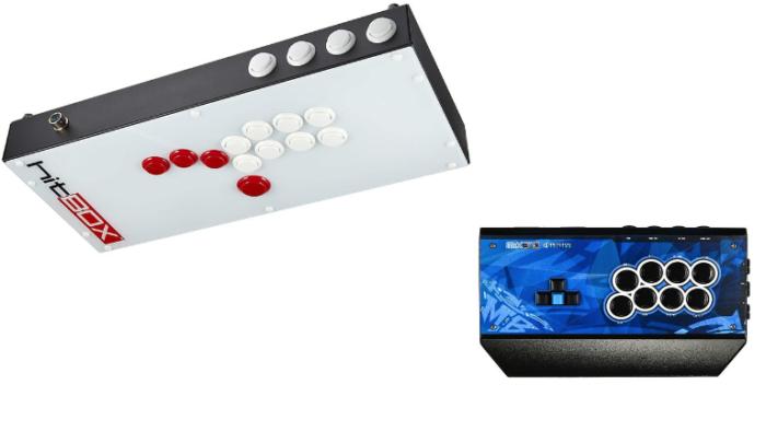 Controles para jogos de luta: Hit Box e Mixbox