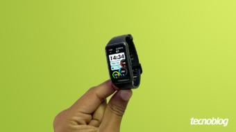 Huawei Band 6: design ousado e recursos de saúde