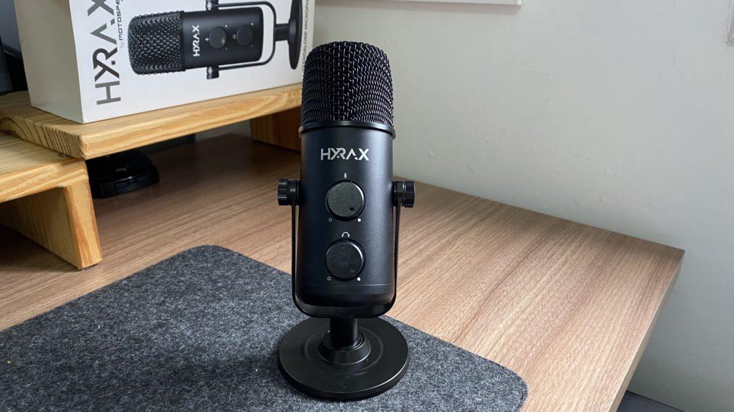 Hyrax HMC900 Microphone (Image: Darlan Helder/Tecnoblog