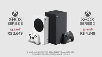 Xbox Series X e S recebem corte de preço após redução de impostos