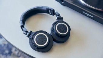 Audio-Technica M50xBT2, fone com bateria de 50h, chega ao Brasil em setembro