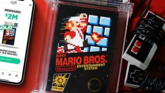 Cópia nunca aberta de Super Mario Bros bate recorde milionário de preço
