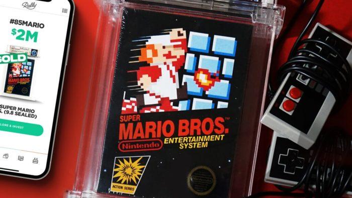 Mario Bros lacrado valeu US$ 2 milhões (Imagem: Divulgação/Rally)