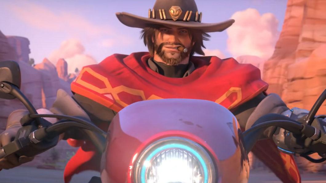 Jesse McCree, em Overwatch (Imagem: Divulgação/Blizzard)