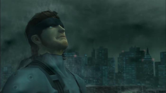 Metal Gear Solid 2 no PS2