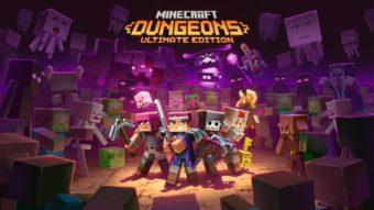 Minecraft Dungeons chega ao Steam com mais de um ano de atraso