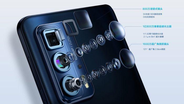 Câmeras do Edge S Pro (Imagem: Divulgação / Lenovo)