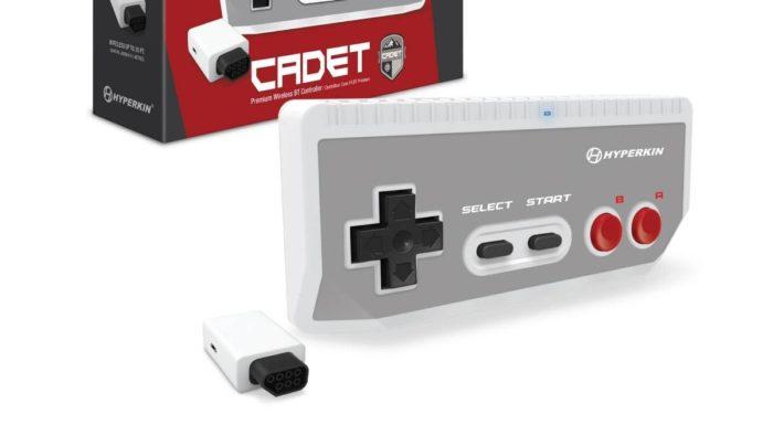 Controle para console de videogame antigo pela Hyperkin
