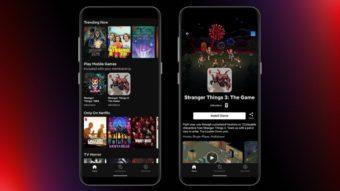 Netflix começa a liberar jogos dentro de seu app para Android