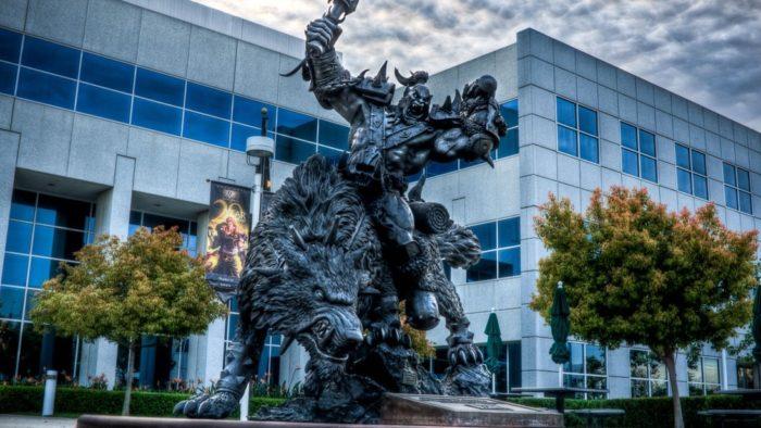 Estátua do Orc no campus da Blizzard (Imagem: Divulgação/Blizzard)
