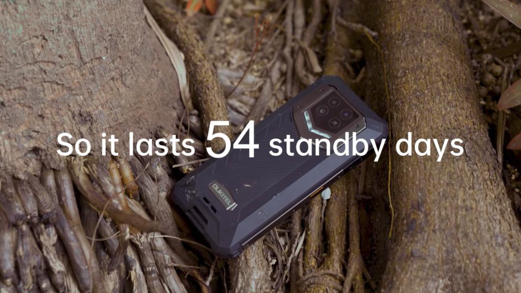 Oukitel WP15 tem bateria de 15.600 mAh (Imagem: Reprodução/Oukitel/YouTube)