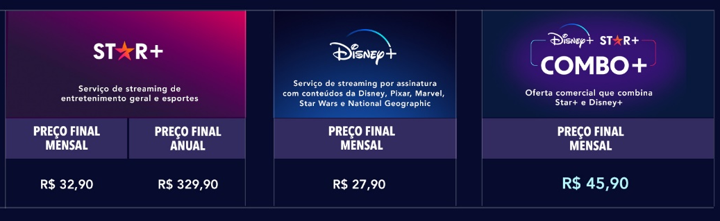 Star+ confirma preço no Brasil e detalha combo com Disney+   Cultura    Tecnoblog