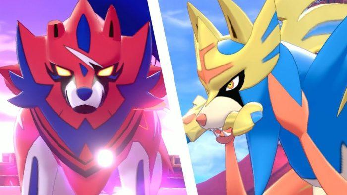 Zamazenta e Zacian estarão em Pokémon Go (Imagem: Divulgação/Nintendo)