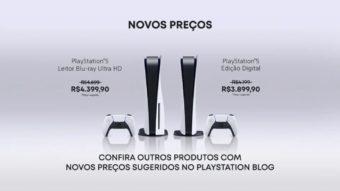 PlayStation 5: preços da Sony começam em R$ 3.899 após corte no imposto