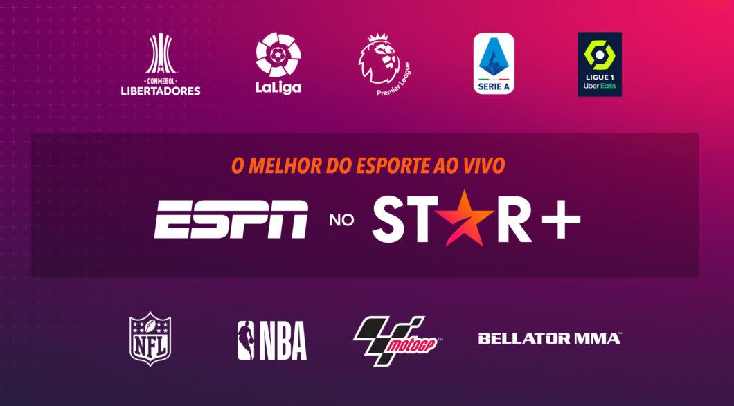 Campeonatos exibidos pelo Star+ (Imagem: Divulgação / Disney)