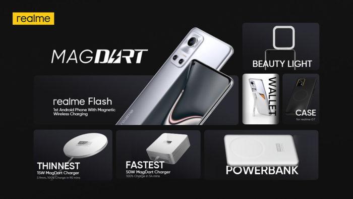 Realme apresenta acessórios para MagDart (Imagem: Reprodução/Android Authority)