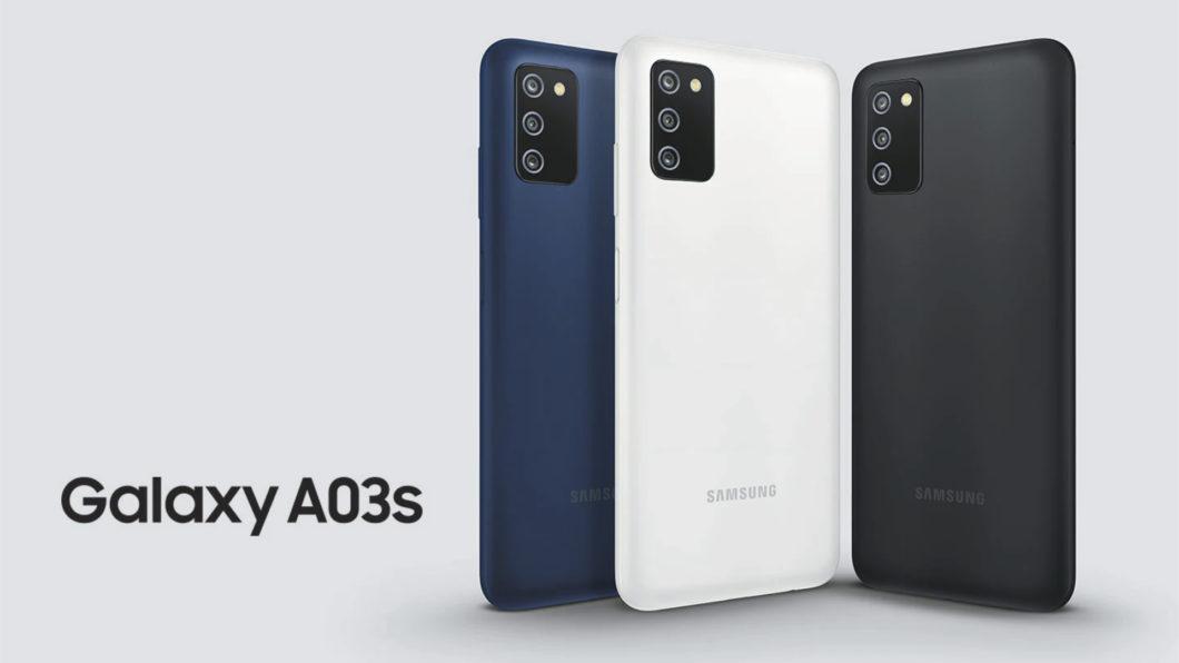 Samsung Galaxy A03s (Imagem: Divulgação/Samsung)