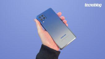 Samsung Galaxy M62: bom de bateria e desempenho