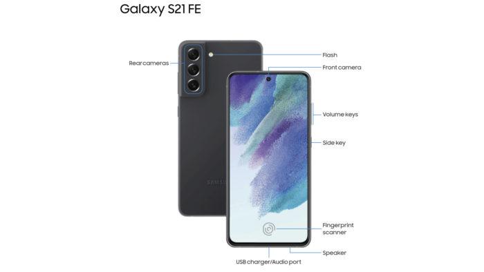 Detalhe do manual do Galaxy S21 FE vazado (Imagem: Reprodução/SamMobile)
