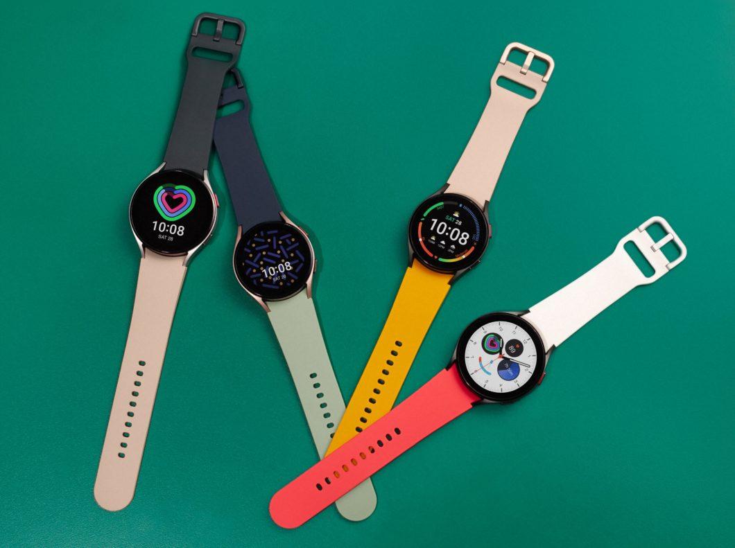 Samsung Galaxy Watch 4 tem várias opções de cores e corpo de alumínio (Imagem: Divulgação/Samsung)