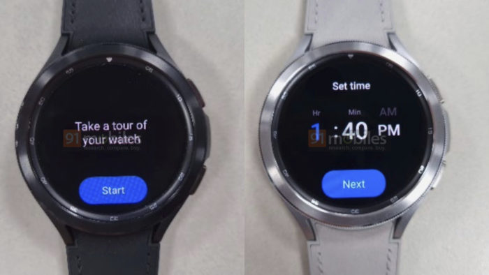 Supposedly Samsung Galaxy Watch 4 Classic (Image: Playback/91Mobiles)