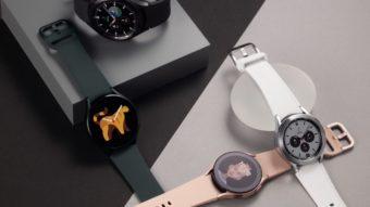 Galaxy Watch 4 e Watch 4 Classic com Wear OS são revelados pela Samsung