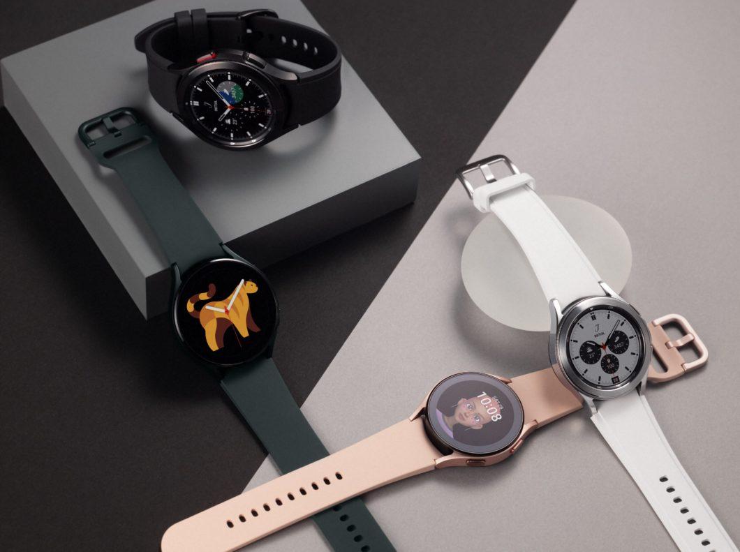 Samsung Galaxy Watch 4 e Watch 4 Classic (Imagem: Divulgação/Samsung)