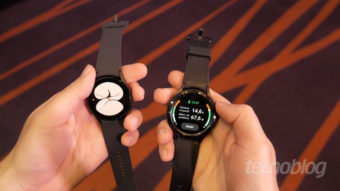 Galaxy Watch 4, relógio da Samsung com Wear OS, começa a ser vendido no Brasil