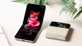 Galaxy Z Flip 3 resistente à água é lançado com tela dobrável de 120 Hz