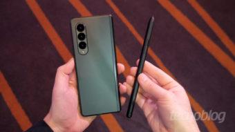 Galaxy Z Fold 3 de US$ 1.800 vem sem carregador e S Pen na caixa