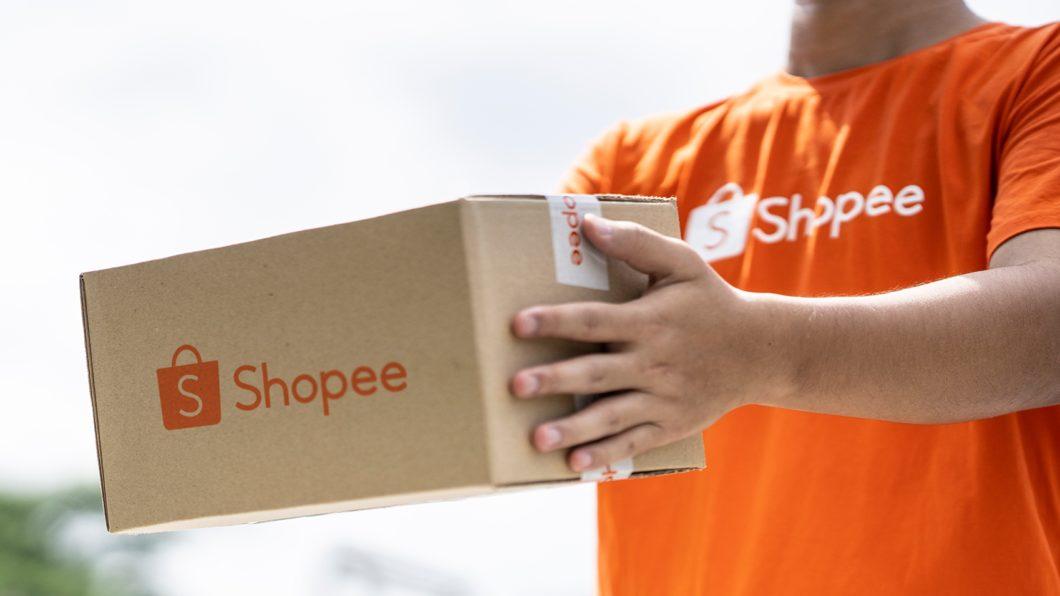 Entrega da Shopee (Imagem: Divulgação)