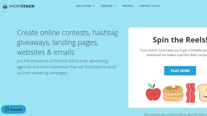 ShortStack app e site