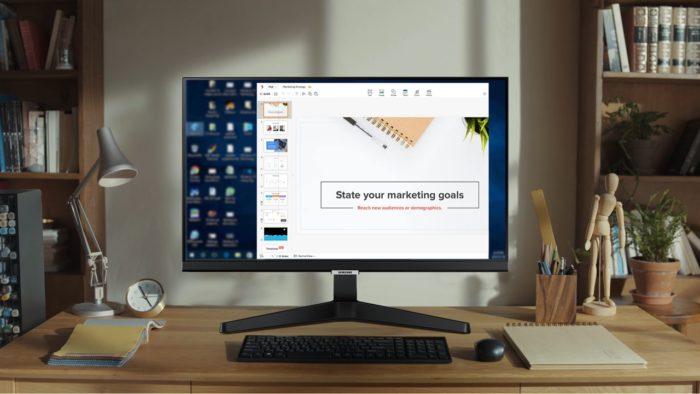 Smart Monitor M5 (imagem: divulgação/Samsung)