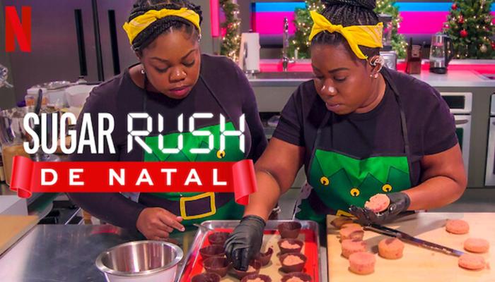 Sugar Rush: série de confeitaria com tema natalino (Imagem: Reprodução/Netflix)